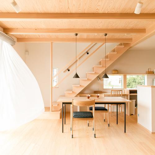 【岐阜県羽島郡】ペットと暮らす。共働き家族のこだわり収納の家