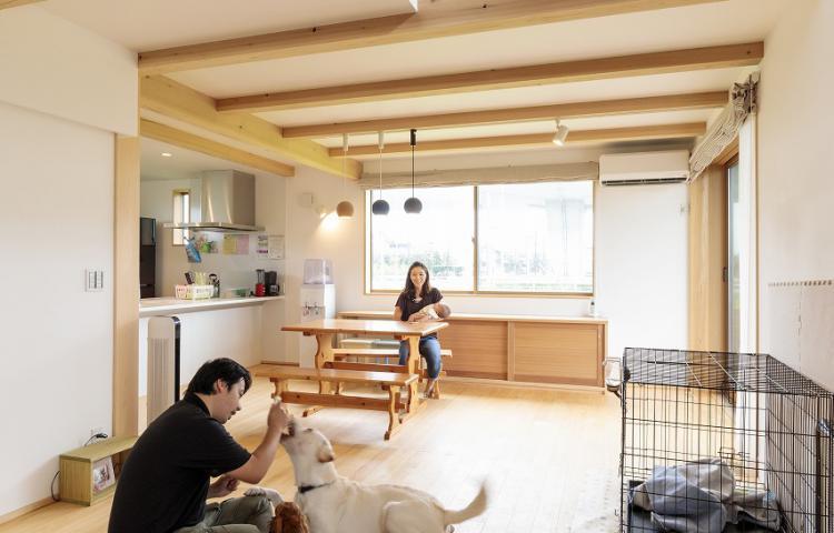 【愛知県一宮市】ペットと暮らす笑顔あふれる住まい