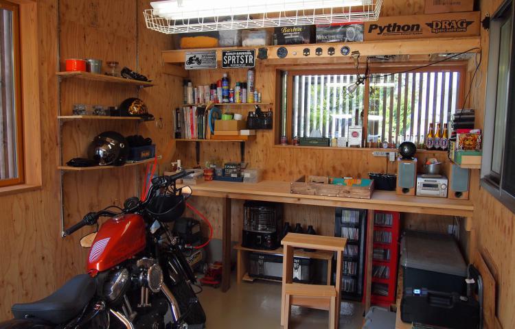 【岐阜県垂井町】バイクガレージのある「好き!」を愉しむ住まい