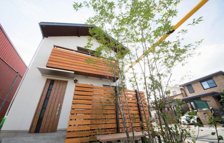 【愛知県清須市】お庭でアクティブに暮らす街中の住まい