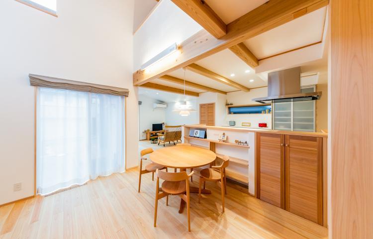 【愛知県一宮市】住宅密集地でも開放的に暮らす 心にゆとりをもたらす住まい
