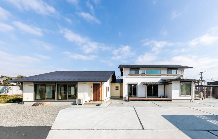 【岐阜県羽島市】気兼ねなく暮らす 完全分離型の二世帯住宅