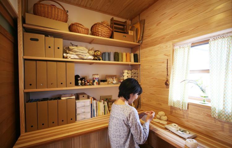 木の家で勉強・仕事の集中力アップ?!