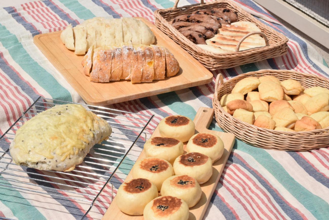 【暮らしの学校】ouchi pan tsumugi よっしー先生のおうちパン教室