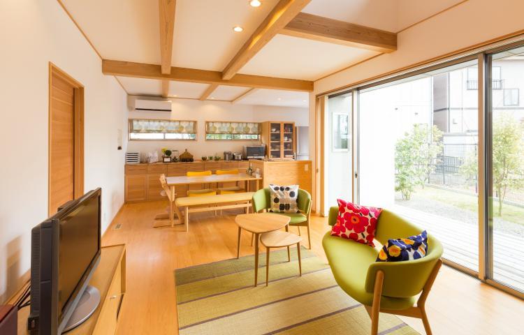 【岐阜県各務原市】ななめに建てられた北欧デザインがおしゃれな住まい